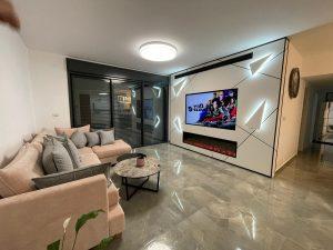 חיפוי זכוכית לטלוויזיה
